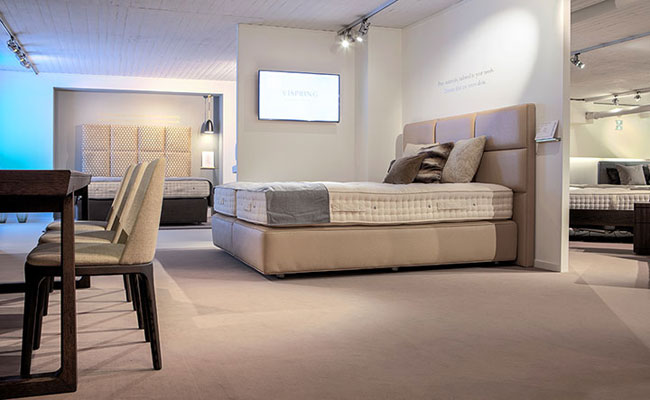 Opening vispring flagship store for Broring interieur