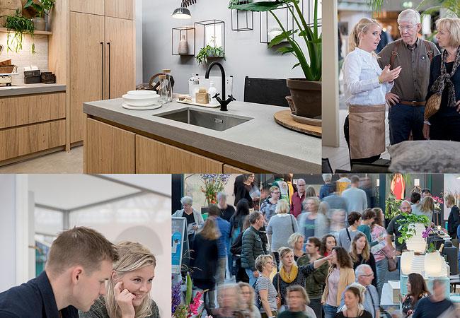 Weer meer bezoek woonbeurs amsterdam for Rai woonbeurs 2016