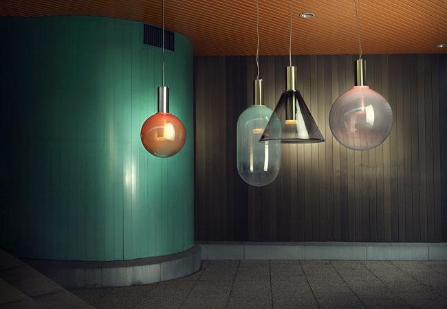 Mondgeblazen design verlichting - Interieurjournaal.com