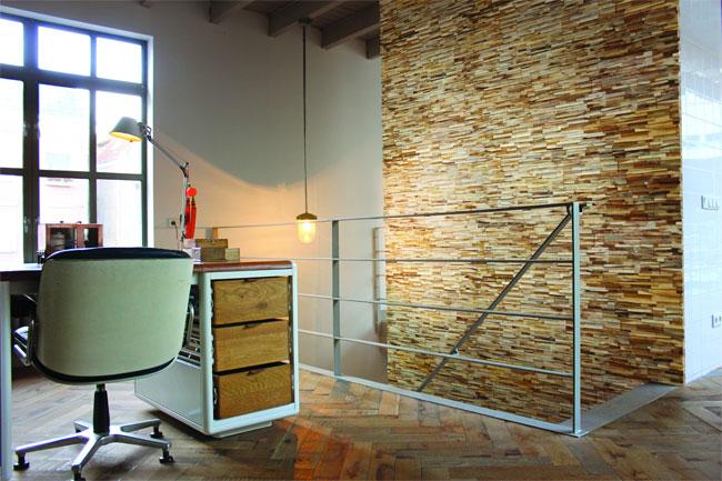 3d wood panels voor de wand - Parket aan de muur ...
