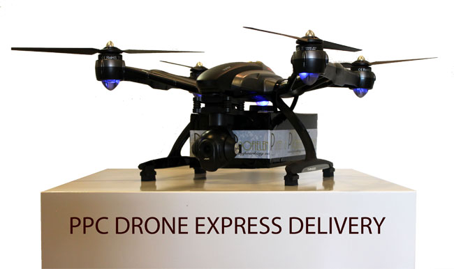 Ppc gaat per drone leveren for Ppc eindhoven