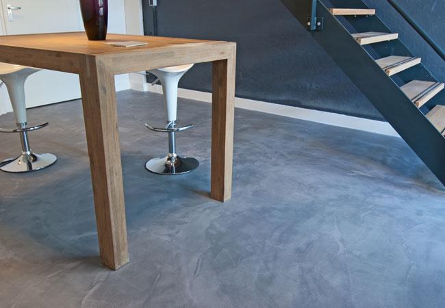 Cemcolori beton cire vloeren bij ppc interieurjournaal