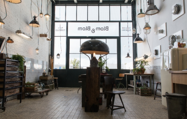 Blom & Blom opent flagship store Amsterdam