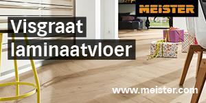 Meister 2021 HalfRetangle - Visgraat laminaatvloer